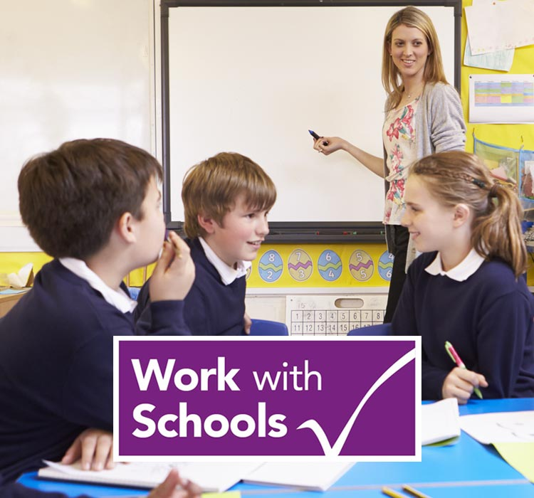 Work with Schools for permanent and