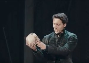 Hamlet performance at Shakespeare's Rose Theatre in York 2019